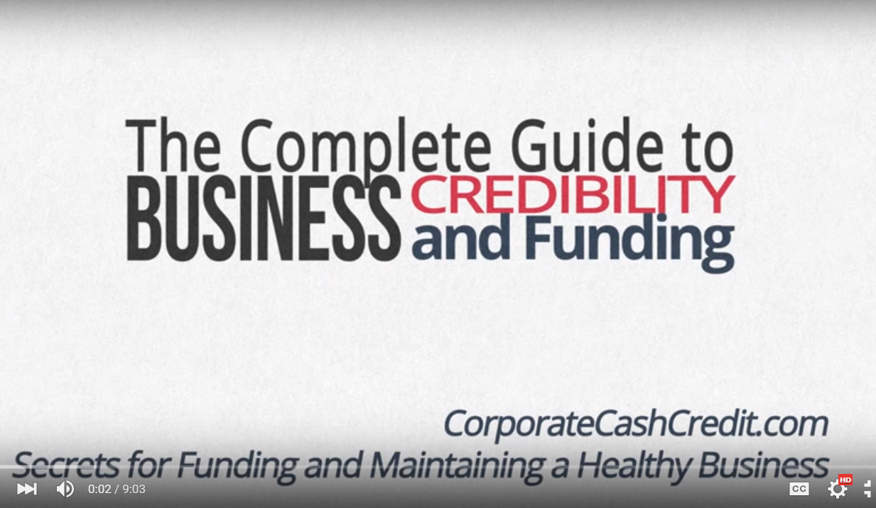 Corporate Cash Credit