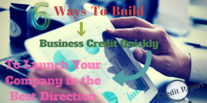 a businessman searching 6 ways to build business credit on his tab